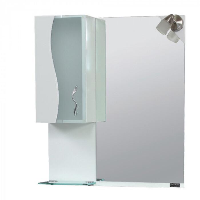 Шкаф за баня с огледало Вега, горен