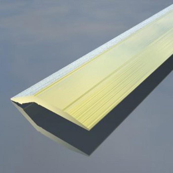 Лайсна преходна за разлика в нивата 43 мм злато 2.7 метра