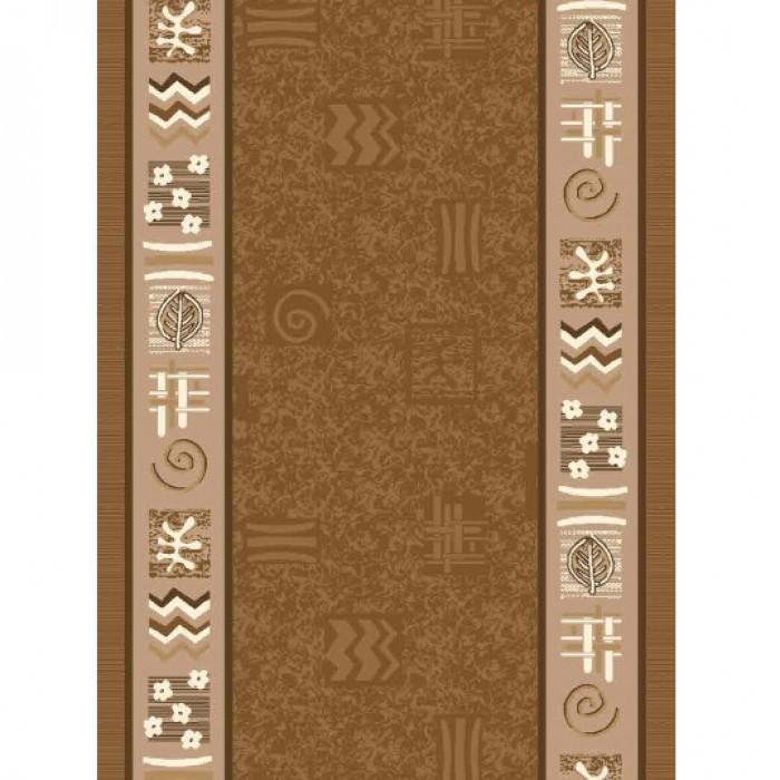 Печатана пътека 119-10-Beige/Brown 67 см