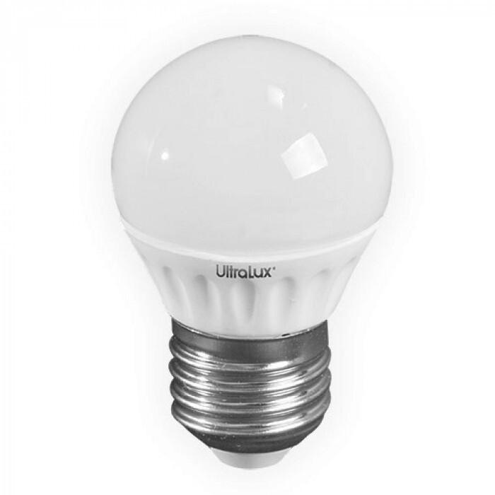 Светодиодна лампа LED топка неутрална 220V E27 4W SMD 5630