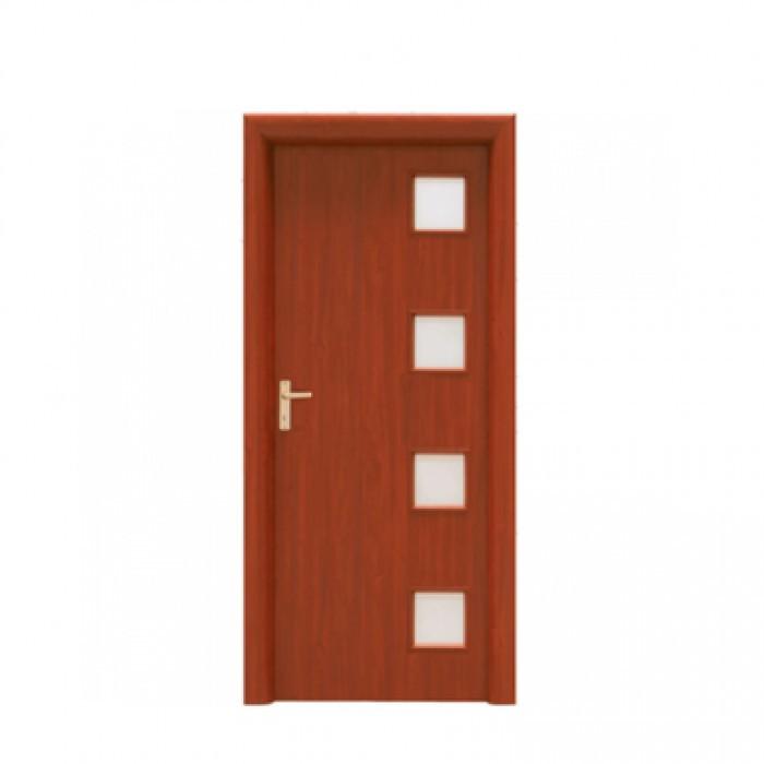 Интериорна врата Jupiter Doors Златен дъб със стъкло 90x200cm