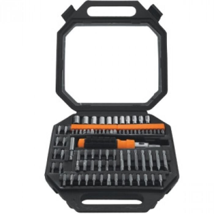 Отвертка с накрайници и вложки Gadget 81 части