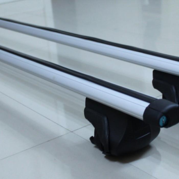 Алуминиеви напречни греди със заключване за автомобил Care 120см / 2 броя