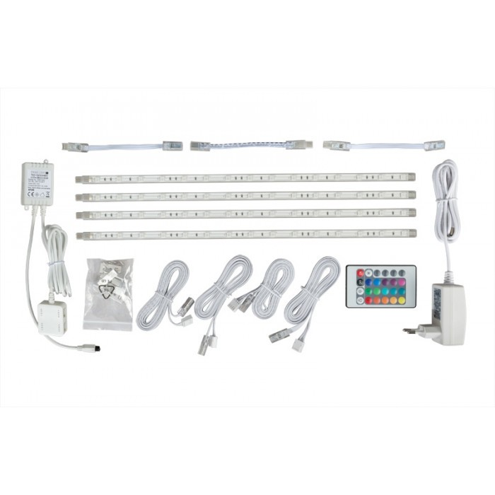 Комплект RGB светодиодно осветление UltraLux 4х3W