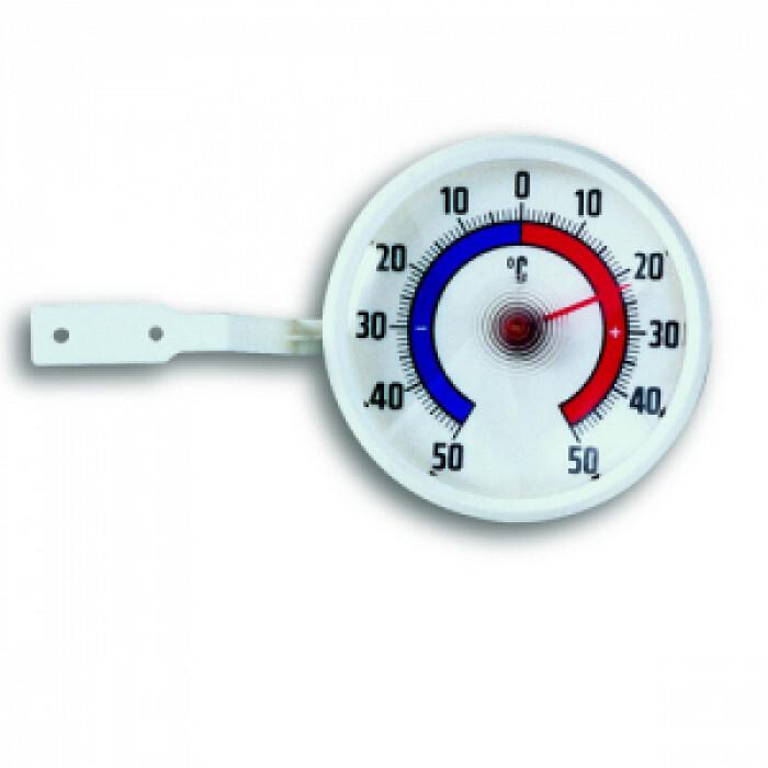 Термометър за прозорец с биметална пластина ø73мм