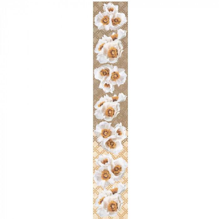 Стенни декоративни плочки фриз Legend цветя IJ 80x500мм