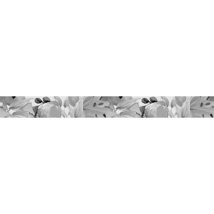 Стенна декорация фриз IJ 50 x 500мм Виола цветя антрацит