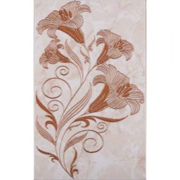 Стенни декоративни плочки център Ибица 250 x 400мм кафяви