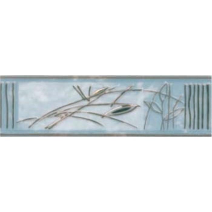 Стенни плочки / фриз 60 x 200 Ирис 1 лукс син