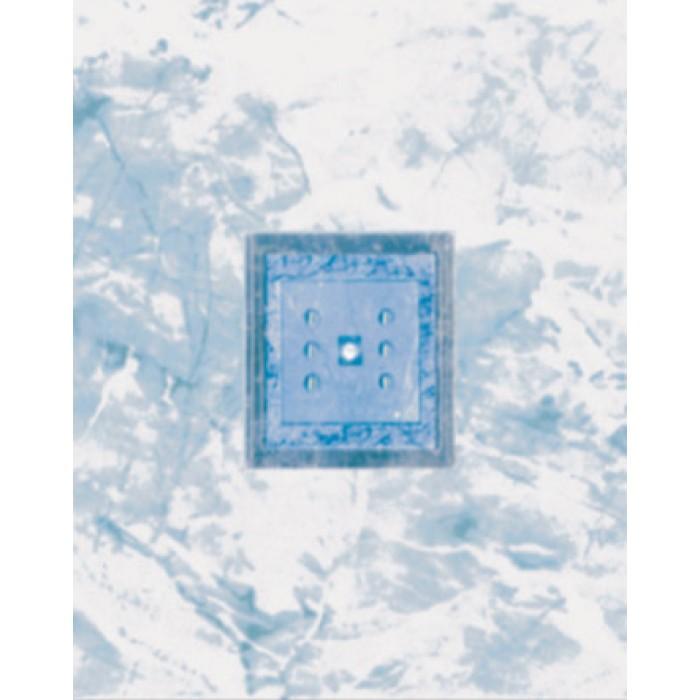 Стенни декоративни плочки 200 х 250 Силва лукс сини