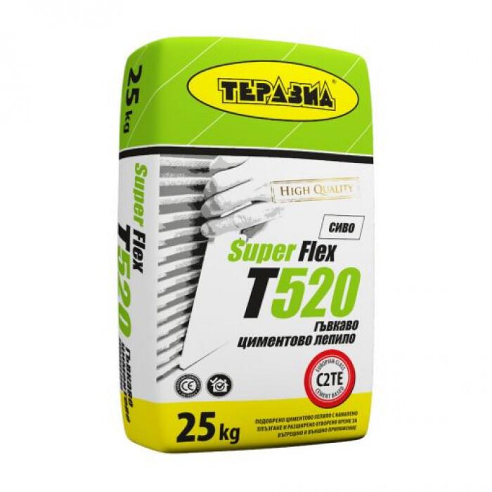 Лепило за плочки Теразид Super Flex T520 / 25кг