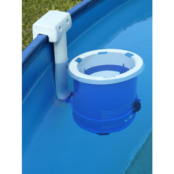 Сглобяем метален басейн с филтърна система Gre 350х90см