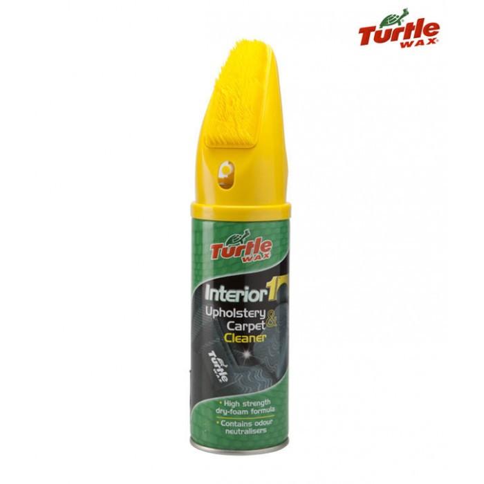 Препарат за почистване на тапицерия Turtle wax Interior 1 Aerosol 400ml