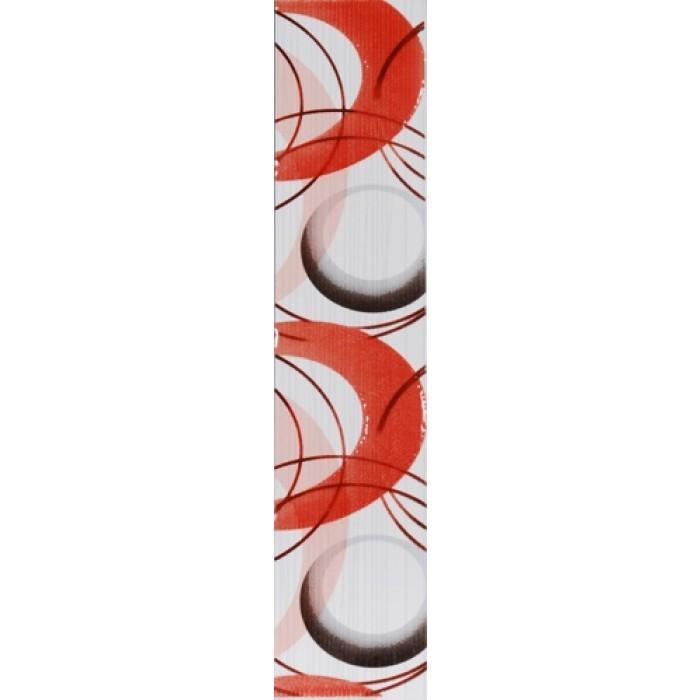 Стенни плочки / фриз 65 x 300 Осака нова лукс червен
