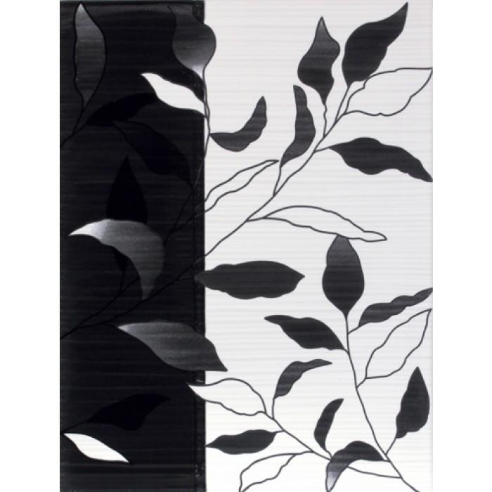 Плочки за стенна декорация 250 x 330 Вива лукс черни