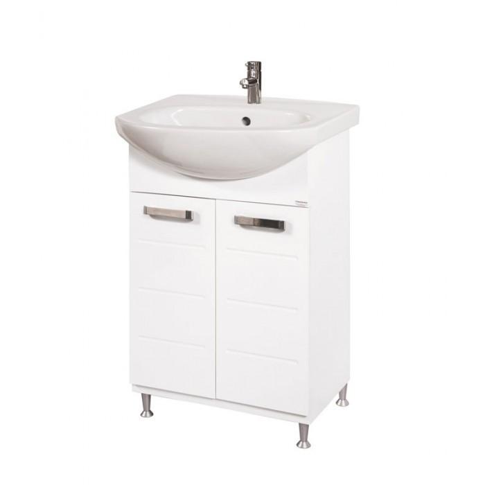 Долен шкаф за баня с мивка Макена Класика