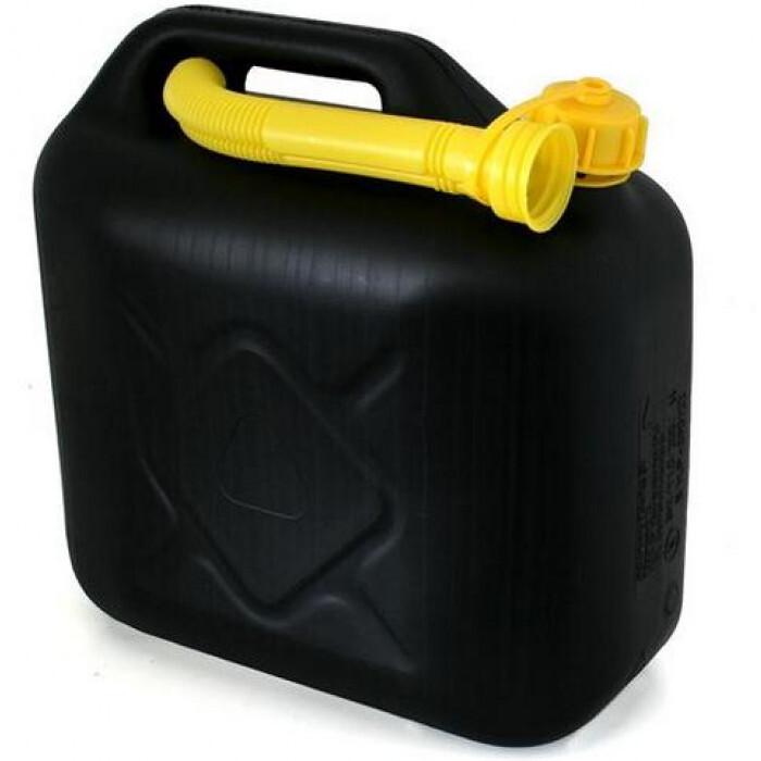 Туба за бензин 10 л / пластмасова