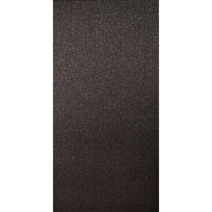 Глазиран гранитогрес 300 x 600 Борсалино ембас черен