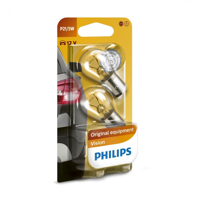 Сигнални крушки Philips 12V P21/5W блистер