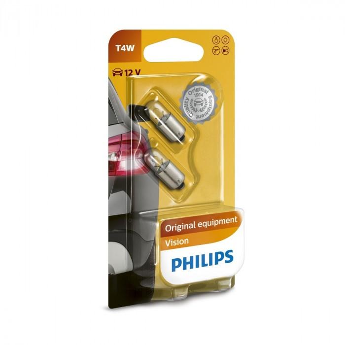 Сигнални крушки Philips 12V T4W блистер