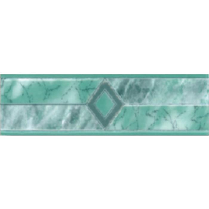 Плочки за стенна декорация / фриз 60 x 200 Силва комфорт зелени