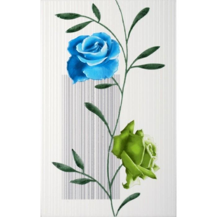 Стенни декоративни фаянсови плочки 250 x 400 Амира комфорт сини