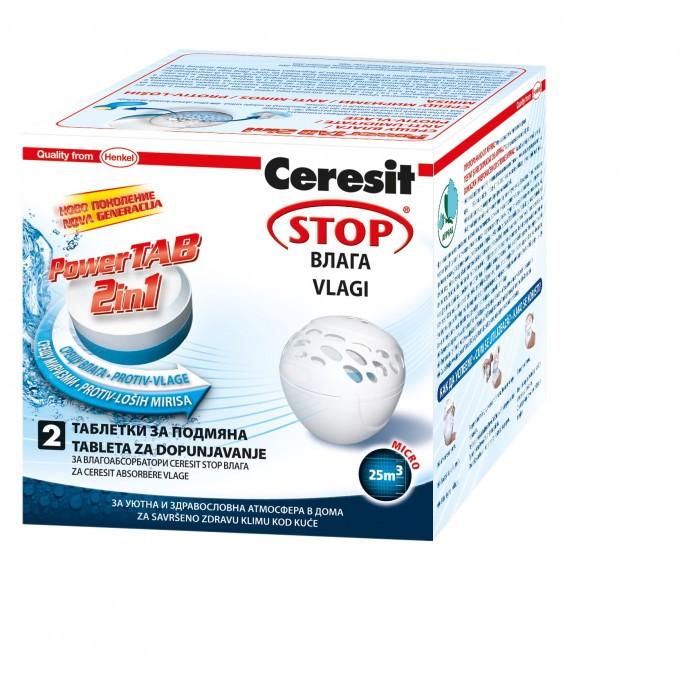 Tаблетки Ceresit Stop влага 2х300г