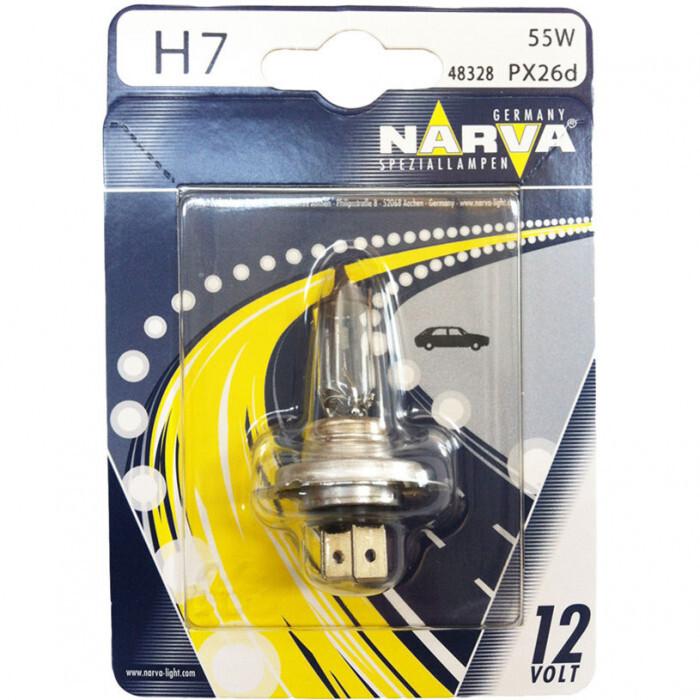 Халогенна крушка Narva H7 12V 55W Px26d