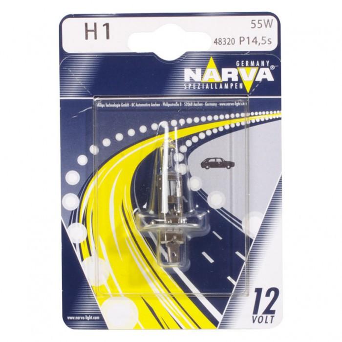 Халогенна крушка Narva H1 12V 55W P14.5s