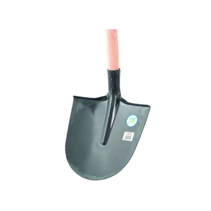 Овална лопата с дръжка 270х275мм / 1300мм