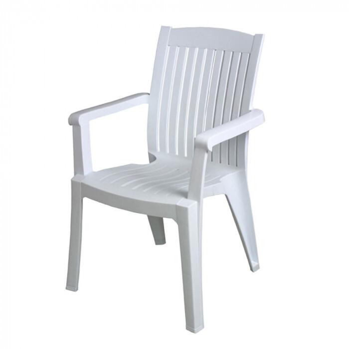 Градински стол Antalya бял