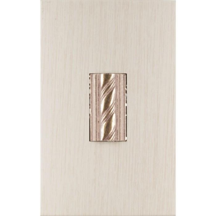 Стенни декоративни плочки / фриз KAI Торино лукс 7561 кафяви 250x400см