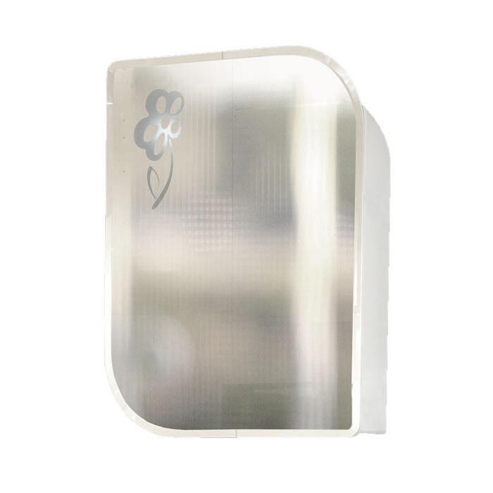 Горен PVC шкаф за баня с огледало Макена Ава