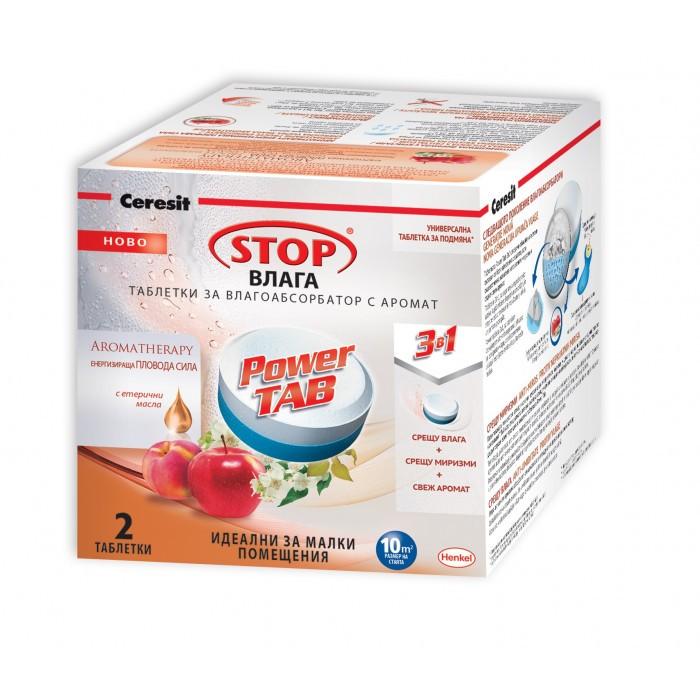 Таблетки Ceresit Stop влага / праскова 2х300г
