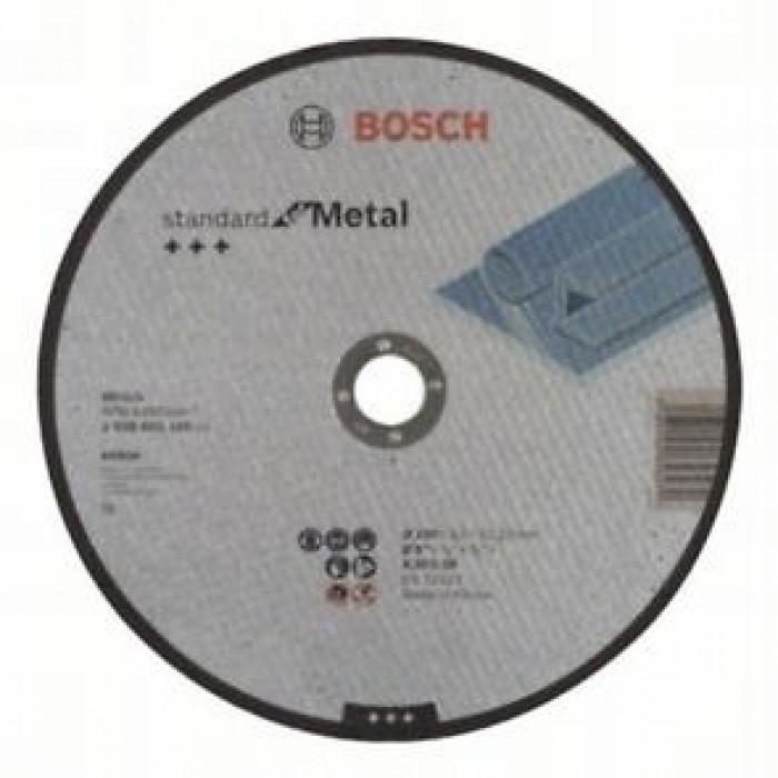 Диск за рязане на метал Bosch 230x3x22.23 прав
