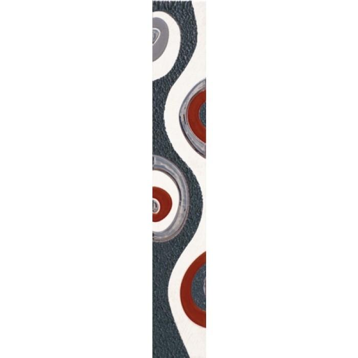 Стенни плочки / фриз Пегасус нов антрацит Лукс 60 x 400мм
