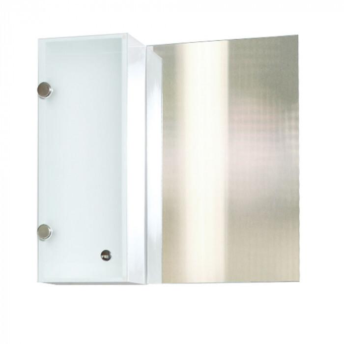 Горен PVC шкаф за баня с огледало Макена Стенли