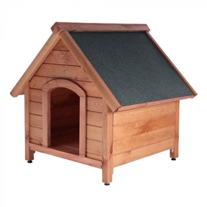 Дървена колиба за куче / размер S