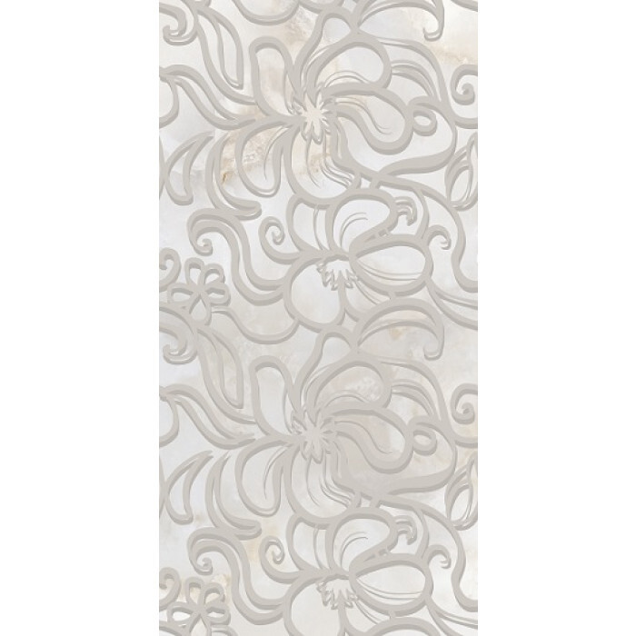 Плочки за стенна декорация IJ Селена дантела 250 x 500мм сиви