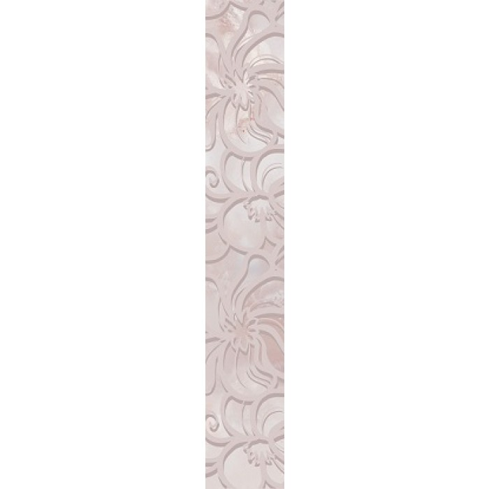 Стенна декорация / фриз IJ Селена дантела розова 80 x 500мм