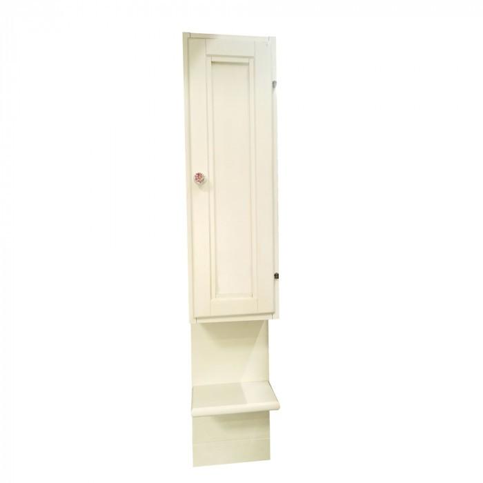 Колона към огледало Savinidue 7056D/41 Старо бяло / малка