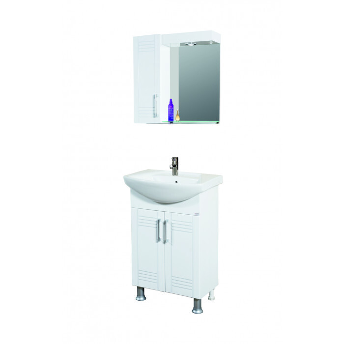 Горен шкаф за баня Макена Алегра 55х55х15см