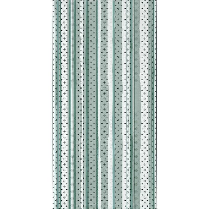 Стенни декоративни плочки IJ Изола райе 250 x 500мм зелени