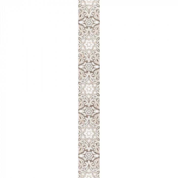Стенни декоративни плочки фриз IJ Ажур дантела 60x500мм светлобежови
