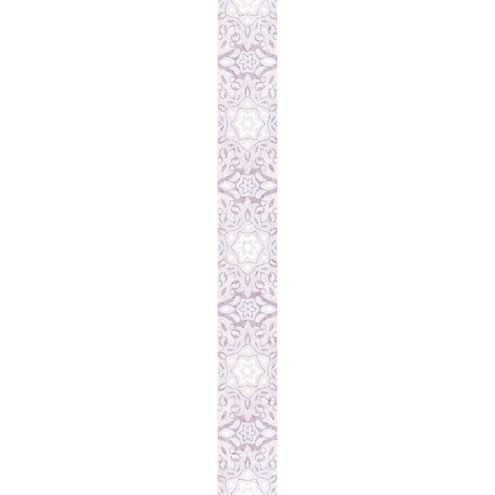 Стенни декоративни плочки фриз IJ Ажур дантела 60 x 500мм светлорозови