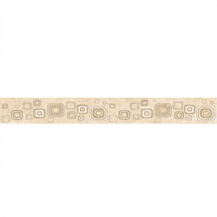 Стенни декоративни плочки фриз IJ Виста 60 x 500мм светлобежови