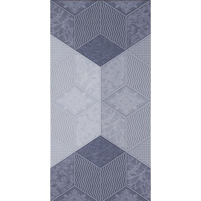 Плочки за стенна декорация IJ Фадо декор 250 x 500мм сини