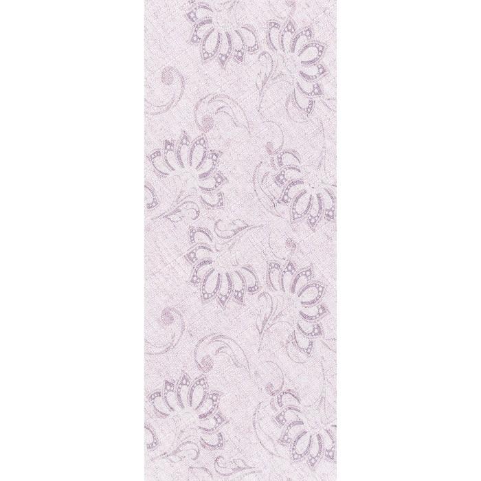 Стенни декоративни плочки IJ Ажур листа 200 x 500мм светлорозови