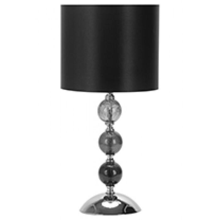 Настолна лампа Lightex Sunday 106 / 10W E27 черна