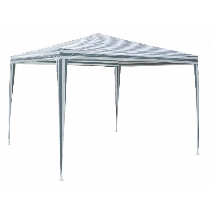 Градинска шатра TLC001 полиетилен 3x3м бяло и зелено